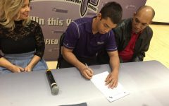 Jordan Diaz Signs with Bethel University