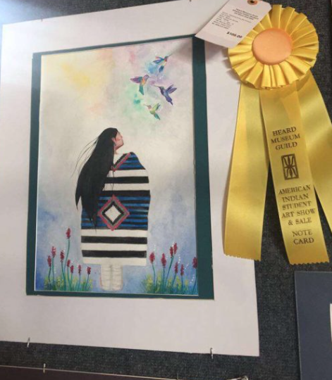 The Heard Museum Art Show Winner