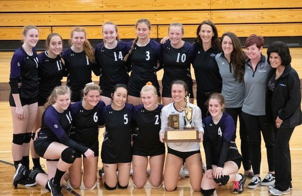 ACP Girls Varsity Volleyball gets District Recognition