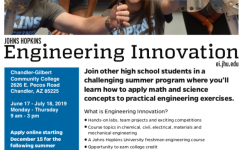 John Hopkins Engineering Innovation Summer Program