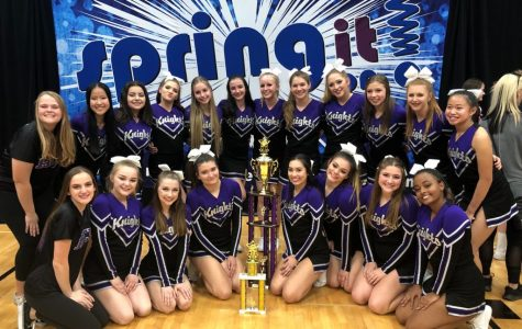 Cheer and Pom Competes in the Spring It Tournament
