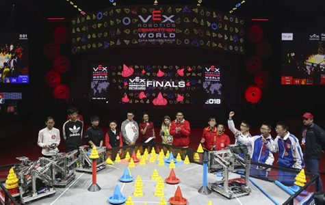 Robotics Club Qualifies for the World Championship