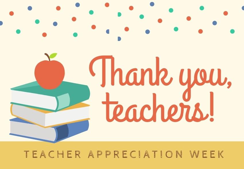 Teacher Appreciation Week Contest