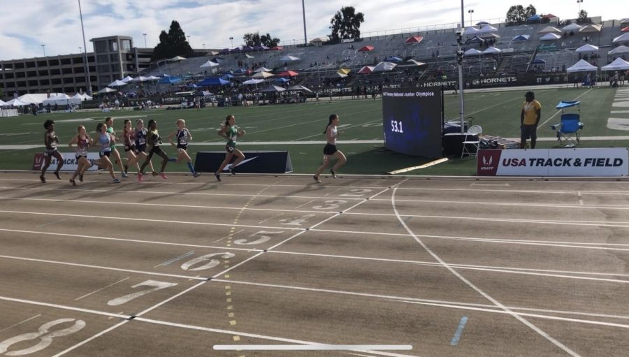 Running to the Finish Line: Eryca Fawkes's Olympic Meet