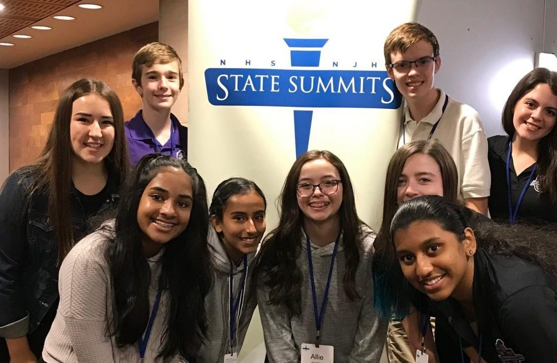 These ACP students represented our school at the summit.