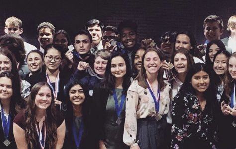 DECA on the Path to Glass at District Conference!