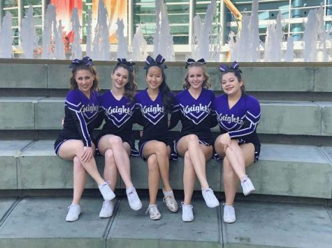 Cheer Has Fun at Nationals