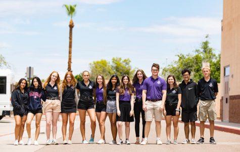 ACP's 2019-2020 Yearbook Staff. Photo taken by Elizabeth Bishop.