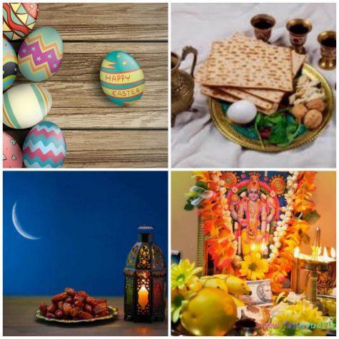 Holidays of April: Easter, Passover, Ramadan, and Vishu Baisakhi