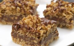 No Bake Chocolate Oatmeal Bars. Photo courtesy of https://tiphero.com/no-bake-chocolate-oat-bars.