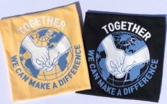 """The back of the """"Together We Can"""" shirts. Photo courtesy of Jennyfer Park."""