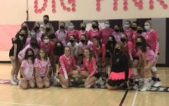 Dig Pink 2020: Varsity sweeps Parker High School in 3 sets